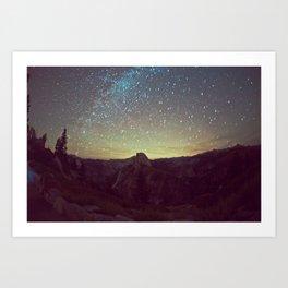 Night Luminescence 1 Art Print