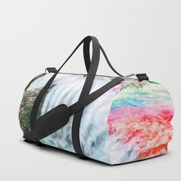 Ruby waterfall Duffle Bag