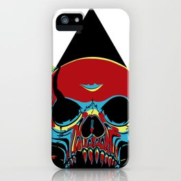 Illuminati Satan - Lucifer iPhone Case