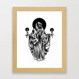 death is near Framed Art Print