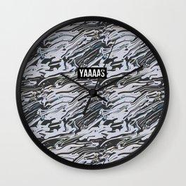 YAS Abstract Print Wall Clock