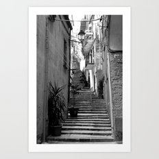 Step Right Up Art Print