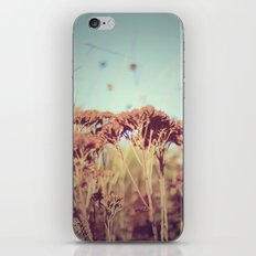 plants - Retro  iPhone & iPod Skin