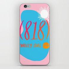 Valley Girl iPhone & iPod Skin