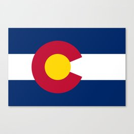 Colorado State Flag Canvas Print