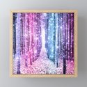 Magical Forest : Pastel Pink Lavender Aqua Periwinkle Ombre by vintageby2sweet