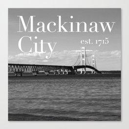 Mackinaw City Canvas Print