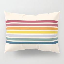Enera - Classic 70s Vintage Style Retro Stripes Pillow Sham