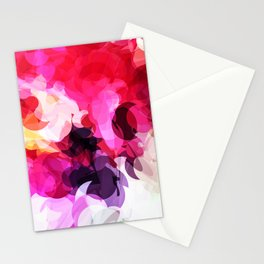 Bright Happy Color Abstract Stationery Cards