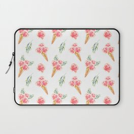 Floral Chill Rose Laptop Sleeve