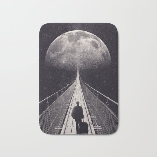 Space Trip Bath Mat