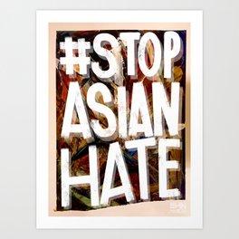 #StopAsianHate Art Print