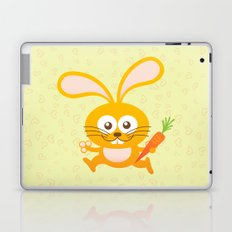 Smiling Little Bunny Laptop & iPad Skin