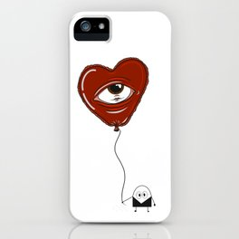 Floating in LOVE iPhone Case