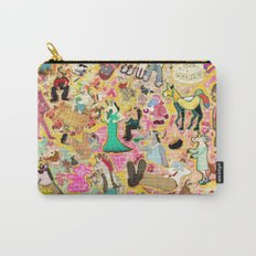 Decoupage Unicorns Carry-All Pouch