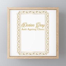 Dorian Gray Anti Ageing Clinic Framed Mini Art Print