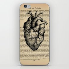 Pride & Prejudice, Chapter XXXV: Anatomical Heart iPhone & iPod Skin
