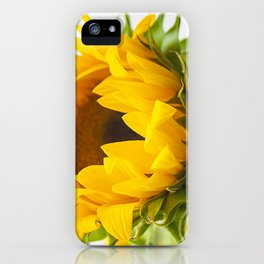 sunflower, girassol iPhone Case