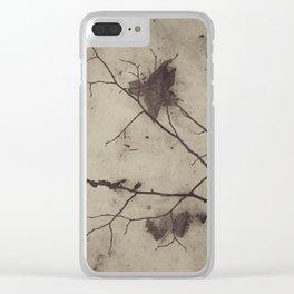 Winter still Clear iPhone Case