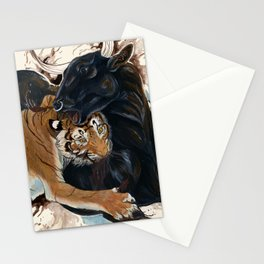 A Battle of Wills Stationery Cards