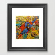 Up, Up and Away! Framed Art Print