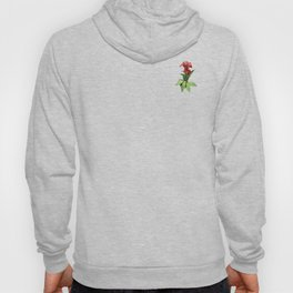 Red Canna Lily Hoody