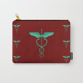 Caduceus - Symbol of Healing Carry-All Pouch