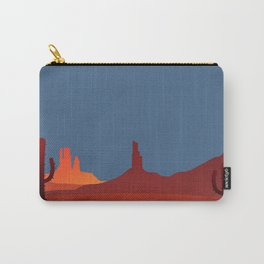 Southwestern Scene Carry-All Pouch