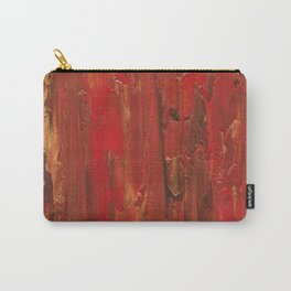 Tree Bark, Abstract Acrylic Carry-All Pouch