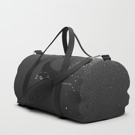 Manta among the bubbles Duffle Bag