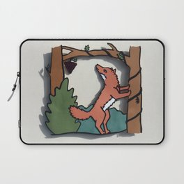 The Fox & The Grapes Laptop Sleeve