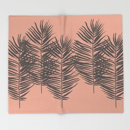 Palms Pattern #society6 #decor #buyart Throw Blanket