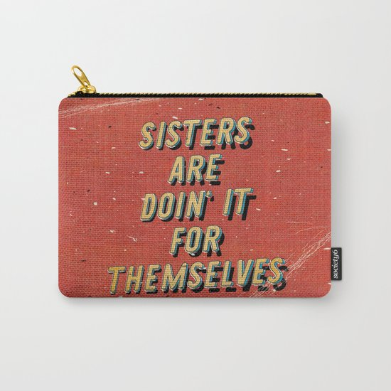 Sisters are doin' it for themselves - A Hell Songbook Edition Carry-All Pouch