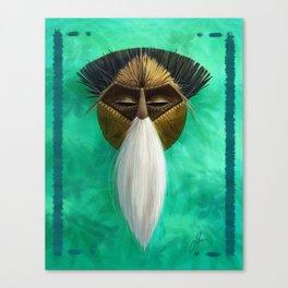Spirit of de Brazza's Monkey Canvas Print