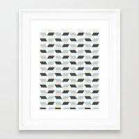 scandinavian Framed Art Prints featuring Scandinavian by Pencil Studio