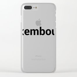 luxembourg Clear iPhone Case
