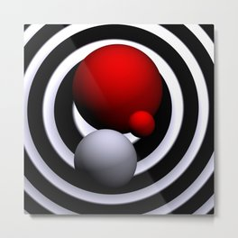 opart imaginary -7- Metal Print