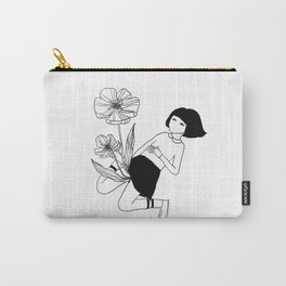 I wanna give you flowers. Carry-All Pouch
