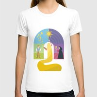 rapunzel T-shirts featuring Rapunzel by Rob Yeo Design