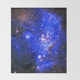 Magellanic Cloud Throw Blanket