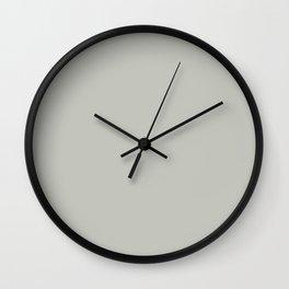 Shoreline Shadows ~ Sand Gray Coordinating Solid Wall Clock
