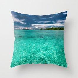 SeaSky Throw Pillow