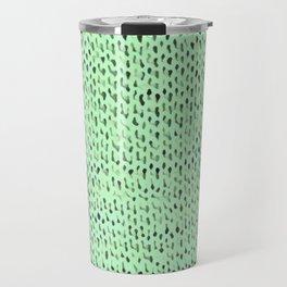 Mint Stockinette Travel Mug