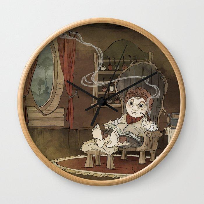 A Merrier World Wall Clock