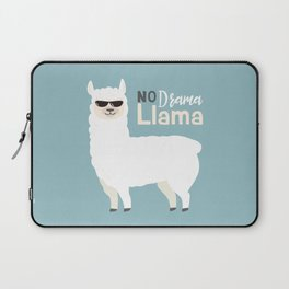 NO DRAMA LLAMA Laptop Sleeve