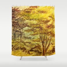 Trees 2 Shower Curtain