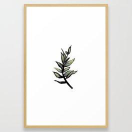 Sprig of Leaves - Katrina Niswander Framed Art Print