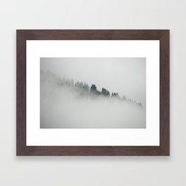 Before the beginning Framed Art Print