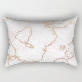 MARBLE & ROSEGOLD HEXAGONAL Rectangular Pillow
