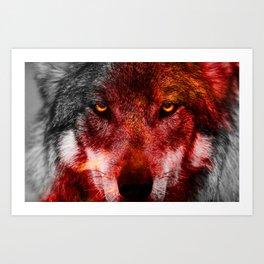 Alpha Male Art Print